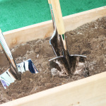 Shovels Closeup