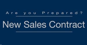SalesContract Opening Screen