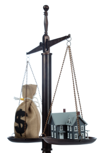 money vs house
