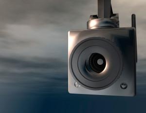 Security Cameras: image of surveillance camera