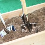 Shovels Closeup