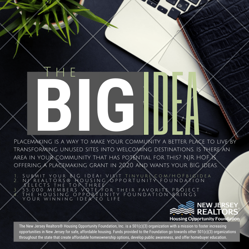 NJ REALTORS® HOF - The Big Idea